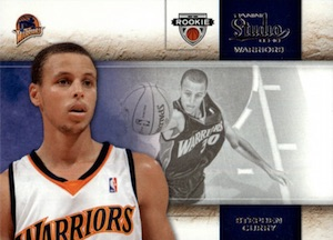 2009-10 Studio #129 Stephen Curry RC