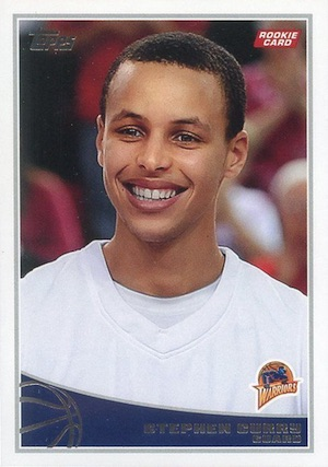 Stephen Curry Rookie Cards Gallery and Checklist 30