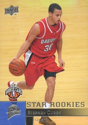 Stephen Curry Rookie Cards Gallery and Checklist 32