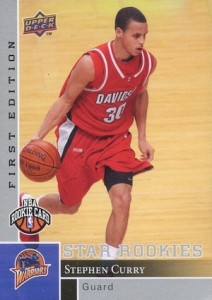 2009-10 Upper Deck First Edition #196 Stephen Curry RC