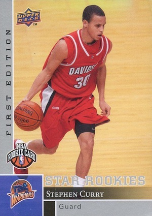 Stephen Curry Rookie Cards Gallery and Checklist 33