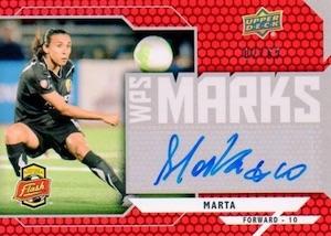2010 Upper Deck MLS WPS Marks Marta