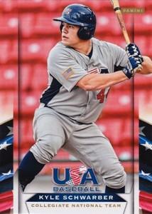 2013 Panini USA Baseball Kyle Schwarber
