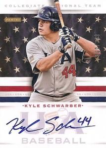 2013 Panini USA Baseball Signatures Kyle Schwarber