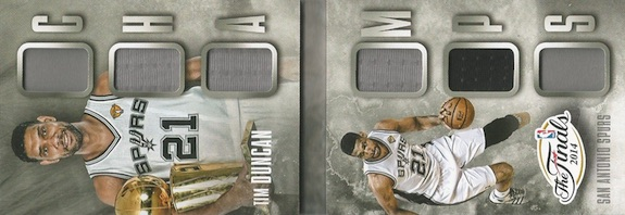 2014-15 Panini Preferred Basketball Champs Booklet Duncan