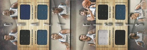 2014-15 Panini Preferred Basketball Crazy Eights Booklet