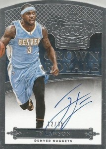 2014-15 Panini Preferred Basketball Crown Royale