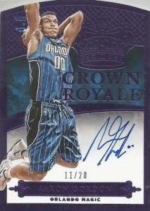 2014-15 Panini Preferred Basketball Crown Royale RC Purple