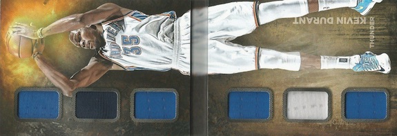 2014-15 Panini Preferred Basketball Swish Booklet Durant