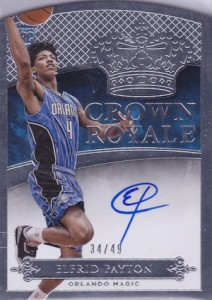 2014-15 Panini Preferred Elfrid Payton Crown Royale