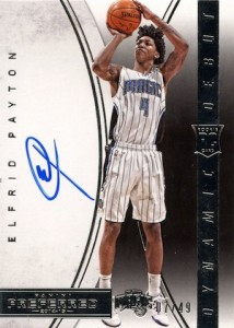 2014-15 Panini Preferred Elfrid Payton Dynamic Debuts