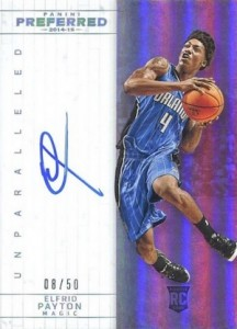 2014-15 Panini Preferred Elfrid Payton Unparalleled