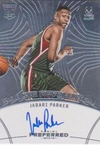 2014-15 Panini Preferred Jabari Parker RC Rookie Revolution Autograph