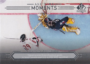 2014-15 SP Authentic Hockey All-Time Moments