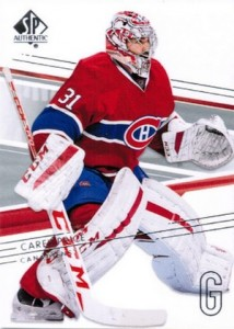 2014-15 SP Authentic Hockey Base Carey Price