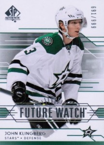 2014-15 SP Authentic Hockey Future Watch