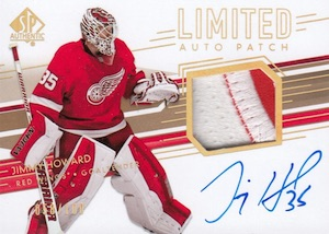 2014-15 SP Authentic Hockey Limited Auto Patch Variation