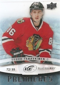 Teuvo Teravainen Rookie Cards Checklist and Guide 2