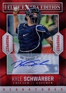 2014 Panini Elite Extra Edition Kyle Schwarber Autograph