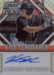 2014 Panini Prizm Draft Prospect Autograph Kyle Schwarber
