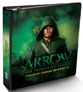 2015 Cryptozoic Arrow Season 2 Binder