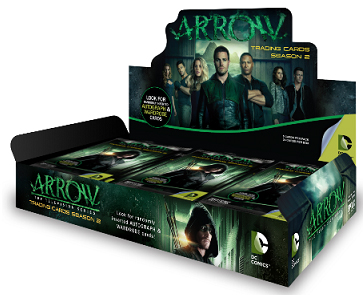 2015 Cryptozoic Arrow Season 2 Box