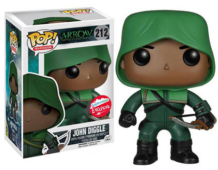 2015 Funko POP SDCC Fugitive Toys John Diggle Green Arrow
