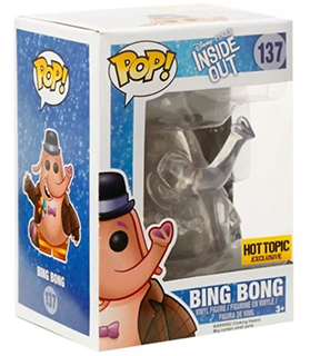 2015 Funko Pop Disney Inside Out 137 Clear Bing Bong