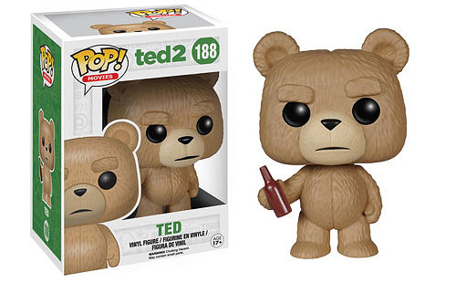2015 Funko Pop Ted 2 188 Ted with Beer Bottle
