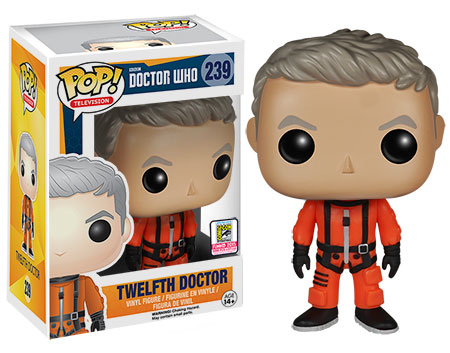 2015 Funko SDCC Doctor Who Pop Spacesuit Twelfth Doctor