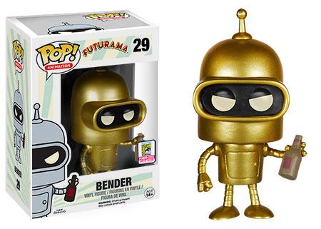 2015 Funko SDCC Pop Gold Bender