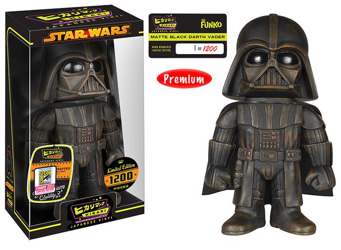 2015 Funko SDCC Star Wars Hikari Black Matte Darth Vader