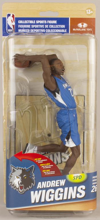 2015 McFarlane NBA 26 Andrew Wiggins Variant