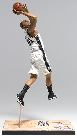 2015 McFarlane NBA 26 Tim Duncan Commemorative Figure