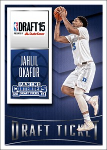 Karl-Anthony Towns, Jahlil Okafor Among Draft Picks Signing Exclusive Deals with Panini 2