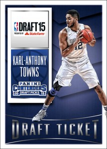 Karl-Anthony Towns, Jahlil Okafor Among Draft Picks Signing Exclusive Deals with Panini 1