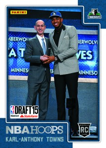 2015 Panini Draft NBA Hoops 1 Karl-Anthony Towns