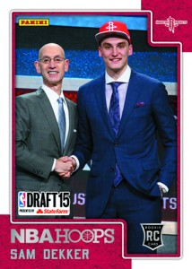 Panini Creates First Digital Rookie Cards for 2015 NBA Draft Picks 8