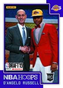 2015 Panini Draft NBA Hoops 2 DAngelo Russell