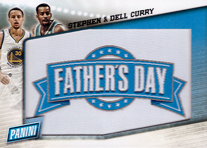 2015 Panini Fathers Day Fathers Day Patch