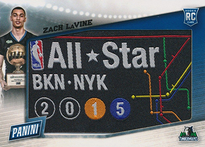 2015 Panini Fathers Day NBA AS Game Patch