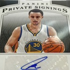 2015 Panini NBA Finals Private Signings Basketball Cards