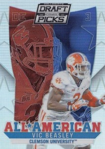 2015 Panini Prizm Collegiate Draft Picks Football Cards 26
