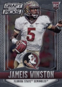 2015 Panini Prizm Collegiate Draft Picks Football Base Jameis Winston