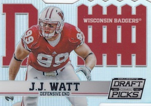2015 Panini Prizm Collegiate Draft Picks Football D-Fence Watt