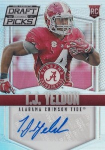 2015 Panini Prizm Collegiate Draft Picks Football Prizm Autograph Yeldon