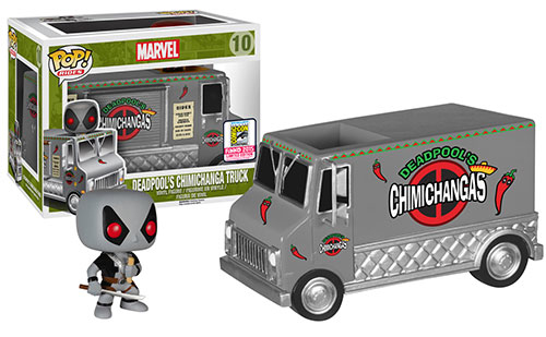 2015 SDCC Pop Rides X-Force Daredevils Chichanga Truck