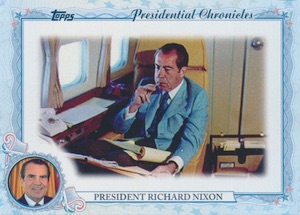 2015 Topps Archives Baseball Presidential Chronicles Nixon