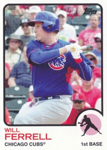 See All the Will Ferrell Cards in 2015 Topps Archives Baseball 7