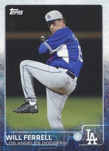 See All the Will Ferrell Cards in 2015 Topps Archives Baseball 5